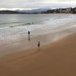 Playa, mar y nieve. Esto es Santander