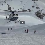 En raquetas de nieve por Picos de Europa. Una auténtica gozada