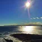 Sol radiante en cabo Menor