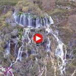 La cascada del Tobazo en Valderredible