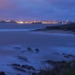 Santander nocturno desde el Mirador de los Tranquilos