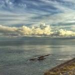 Nubes de algodón junto a Cabo Menor