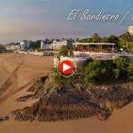 Playas de Cantabria a vista de pájaro