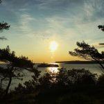 Isla de Mouro. 7:43 de la mañana. La suerte de vivir en Santander