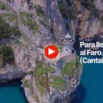 Los 700 escalones del Faro del Caballo en Santoña