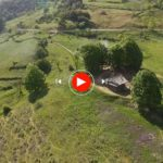 La Cabaña de Heidi a vista de dron