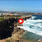 Miradas desde la playa de Los Caballos en la costa de Cuchía