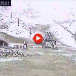 El Chivo, nevando un 15 de junio