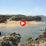 Día de playa y baño en la Virgen del Mar