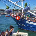 El Barrio Pesquero honrando a la Virgen del Carmen