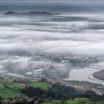 Un mar de nubes sobre Astillero