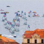 De regata por la bahía de Santander