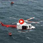 El rescate de una pareja accidentada en los acantilados de Cabo Mayor