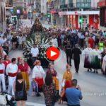 La procesión de la Virgen Grande de Torrelavega 2016