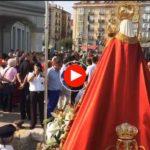 La procesión marítima de la Virgen de Latas