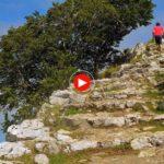 La Virgen de las Nieves en Guriezo a vista de dron