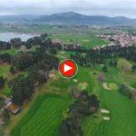 Vuela sobre el Real Golf de Pedreña
