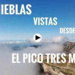 Las nieblas del puente de Todos los Santos desde el Pico Tres Mares