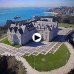 El imponente palacio de la Magdalena