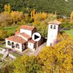 Santa María de Lebeña, a vista de dron