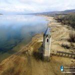 La iglesia sumergida de Rozas de Valdearroyo, al descubierto