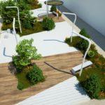 Así serán las nuevas plazas del Barrio Pesquero