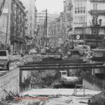 Así se construyó el túnel de la calle Burgos