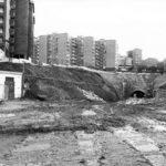 Las obras de construcción del túnel de Tetuán