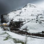 Paisajes invernales de San Roque de Riomiera y La Concha
