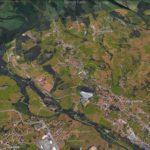 El laberinto de Villapresente desde Google Earth