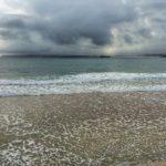Mar y nubes desde el Sardinero