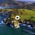 De Tina Menor a Pechón a vista de dron