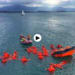 Supervivencia marítima junto a Gamazo