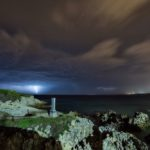 La tormenta que se quedó con ganas de tocar la costa cántabra