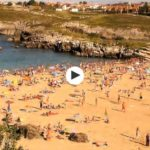 Perdida por alguna playa de Cantabria