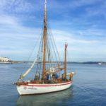 Este barco transporta antiguas semillas de cereal desde Oslo hasta Estambul
