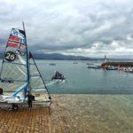 Ambiente de competición en la bahía de Santander, la más bonita del mundo