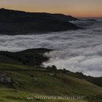 Un mar de nubes desde Portillo de La Sía