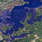 ¿Qué le pasaría a Santander si el nivel del mar subiese 2, 5 y 7 metros?