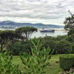 Llegar a puerto con estos paisajes te tiene que alegrar el día