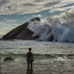 El espectáculo de El Madero los días de temporal