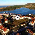 Mogro a vista de dron. ¡En qué parajes hay pueblos de Cantabria!