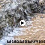 Las cascadas de la playa de los Molinucos