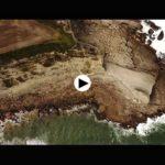 Los acantilados salvajes de Langre