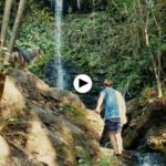 Día de disfrute en las cascadas de Lamiña