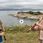 Las flautas nativas de Jesús y Santi encuentran inspiración en Mataleñas