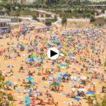 Así se ponen las playas del Sardinero los días de sol