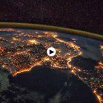 Esto es lo que verán los astronautas de la ISS cuando pasen esta noche cerquita de Santander