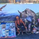 Un portugués que lleva recorridos 85.000 kilómetros en bicicleta durante catorce años llega a Santander