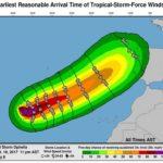 Ojo, que el ciclón post-tropical Ophelia se acerca a Cantabria y avisan de posibles fuertes vientos